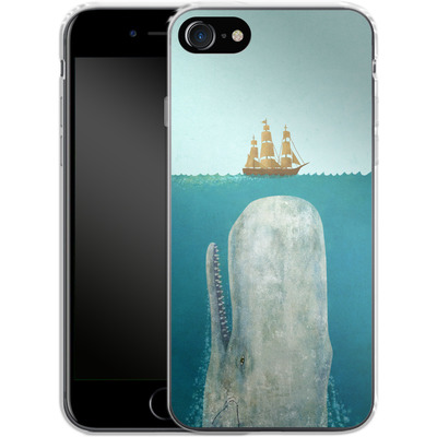 Apple iPhone 8 Silikon Handyhuelle - The Whale von Terry Fan