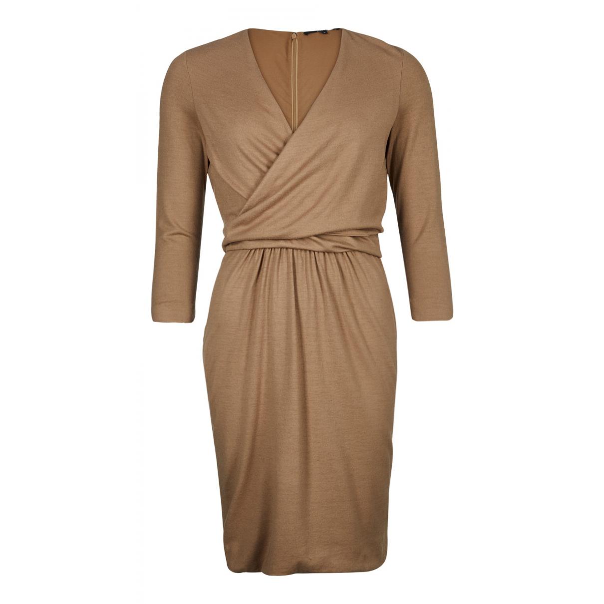 Gucci \N Kleid in  Beige Baumwolle