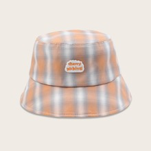 Plaid Pattern Bucket Hat