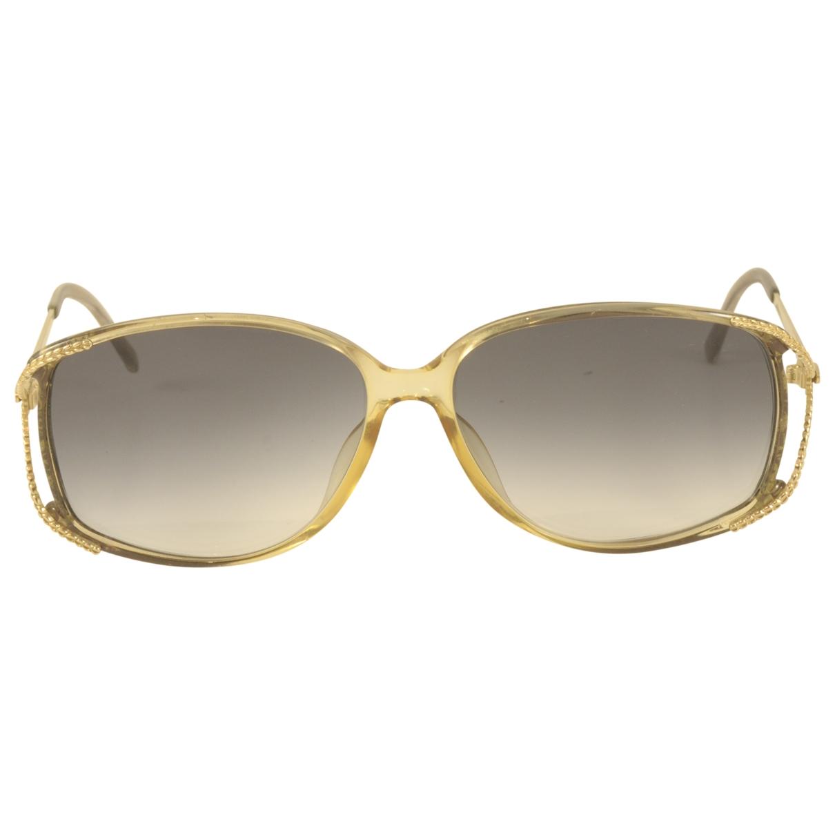 Dior \N Gold Sunglasses for Women \N