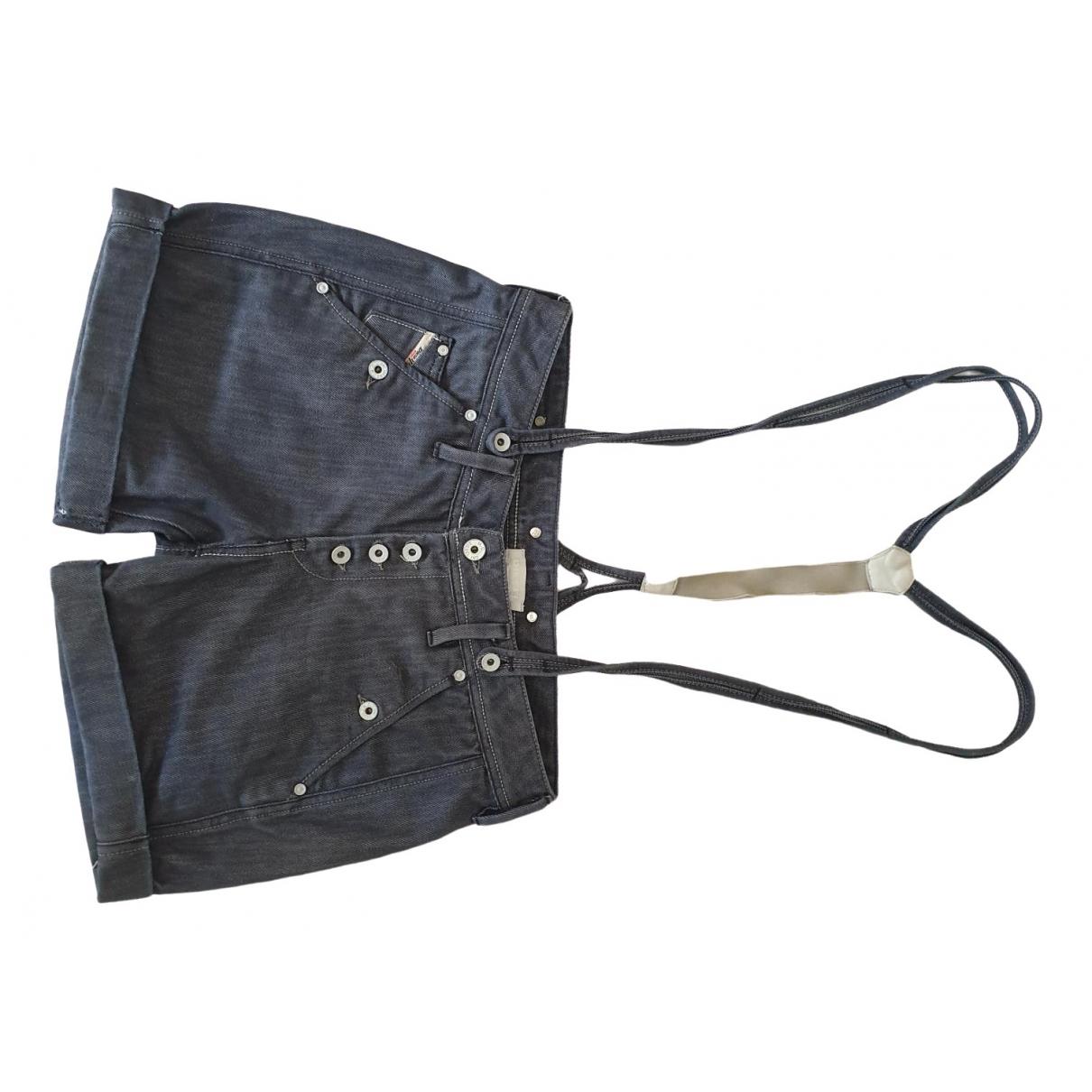 Diesel \N Shorts in  Blau Baumwolle - Elasthan