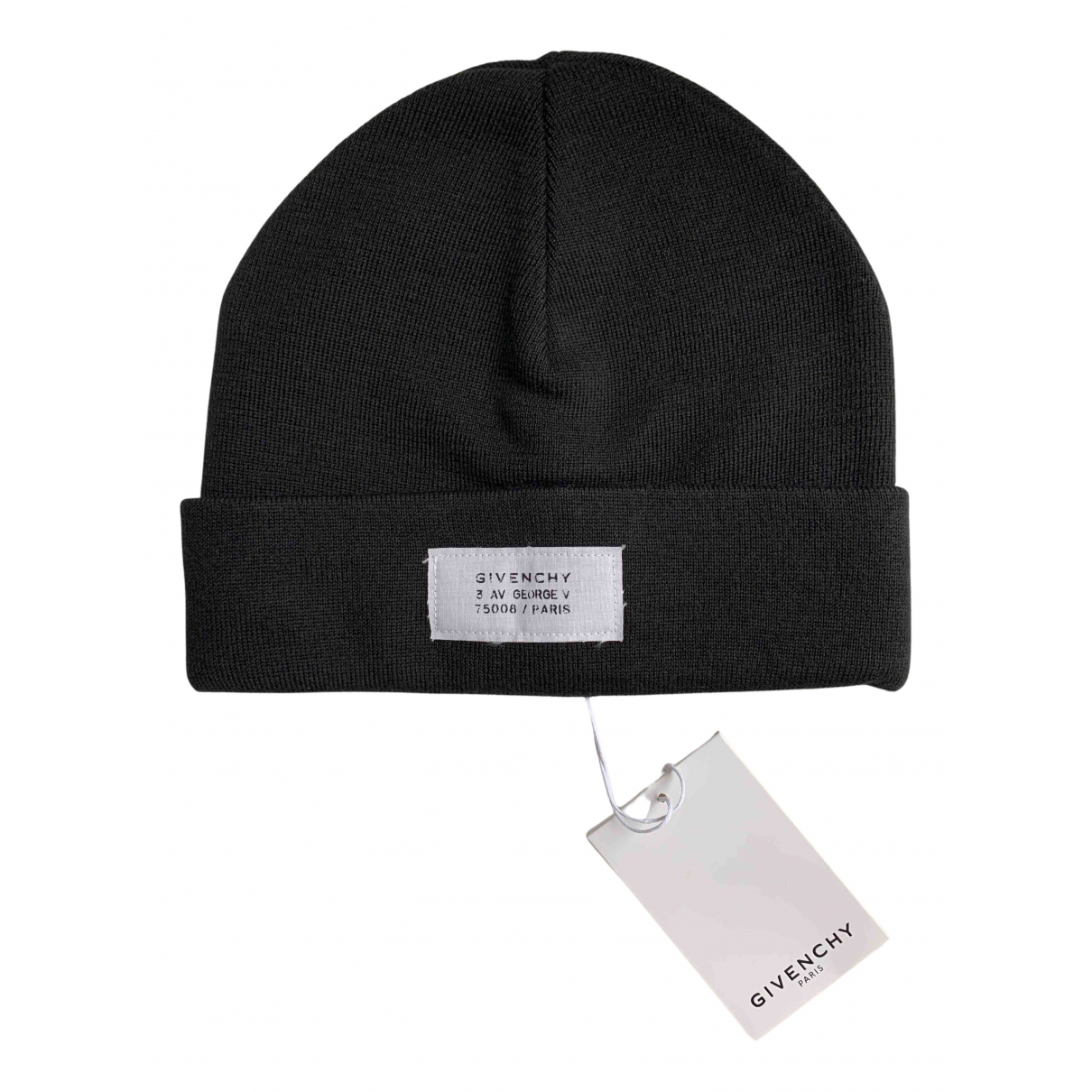 Givenchy N Black Wool hat for Women M International