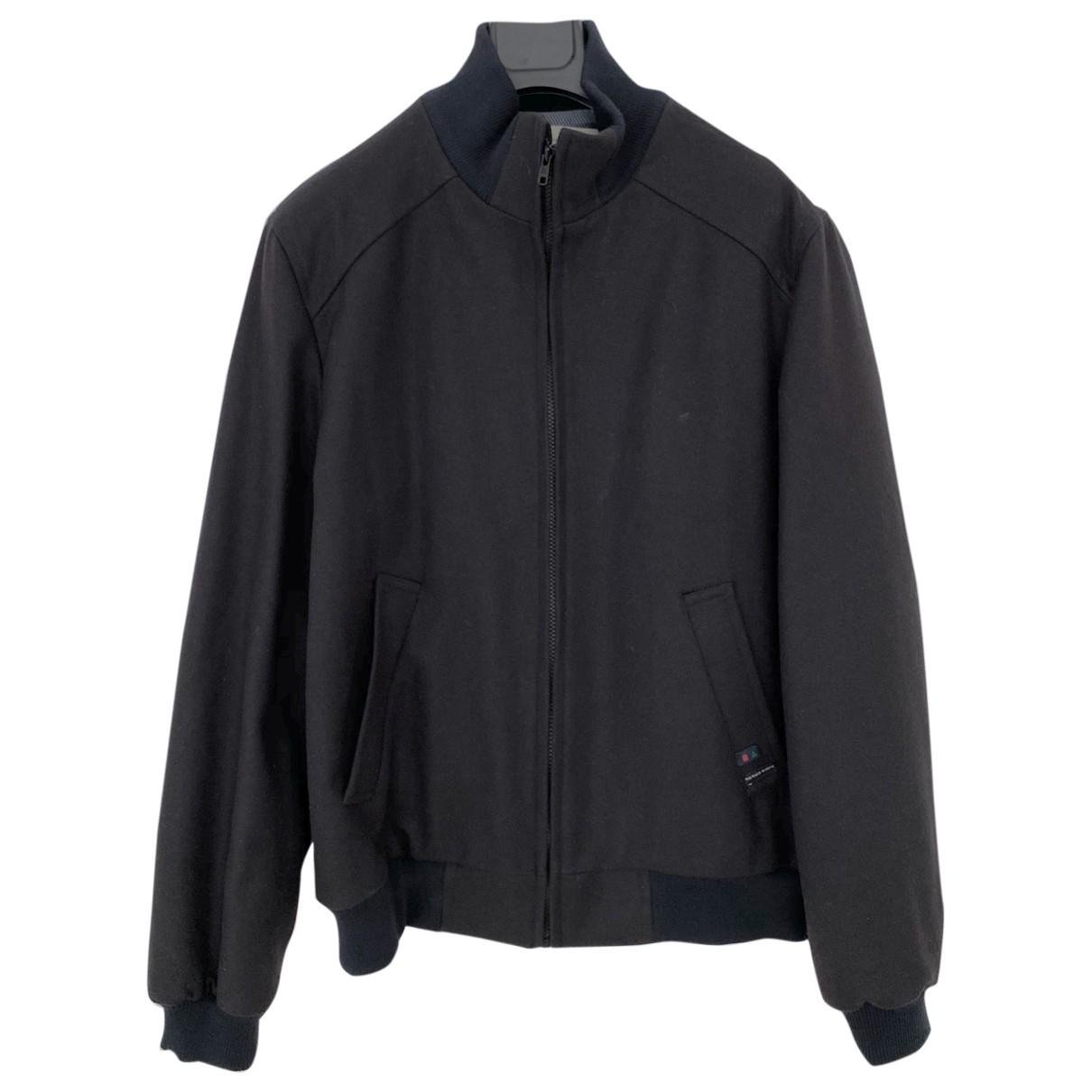Non Signé / Unsigned \N Blue Cotton jacket  for Men 48 FR