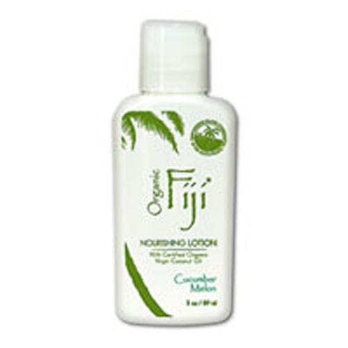Nourishing Lotion For Face & Body Cucumber Melon 3 oz by Organic Fiji