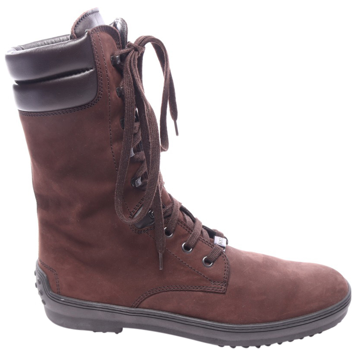 Tod's \N Brown Leather Boots for Women 39.5 EU
