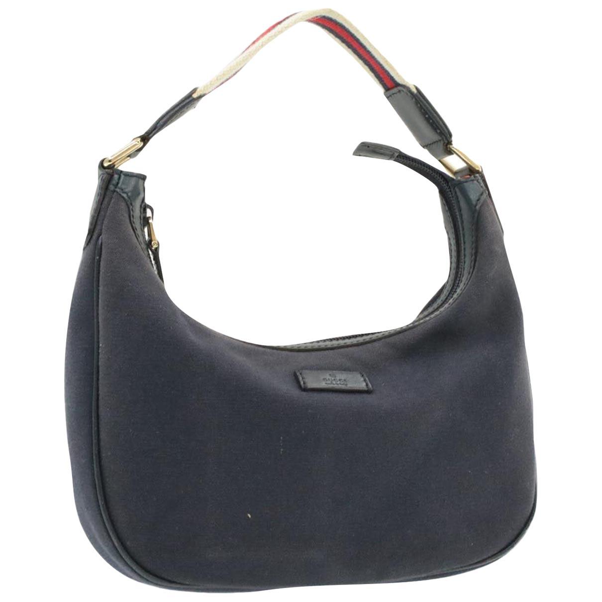 Gucci \N Navy Cloth Clutch bag for Women \N