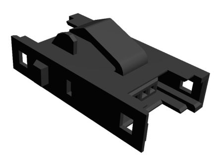 TE Connectivity 4-Way RITS Connector for Panel Mount (100)