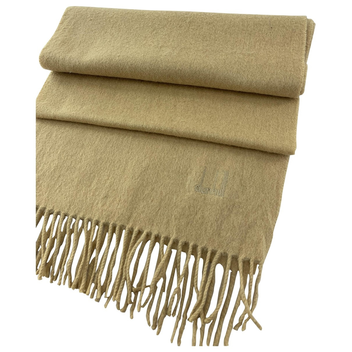 Alfred Dunhill \N Brown Cashmere scarf for Women \N