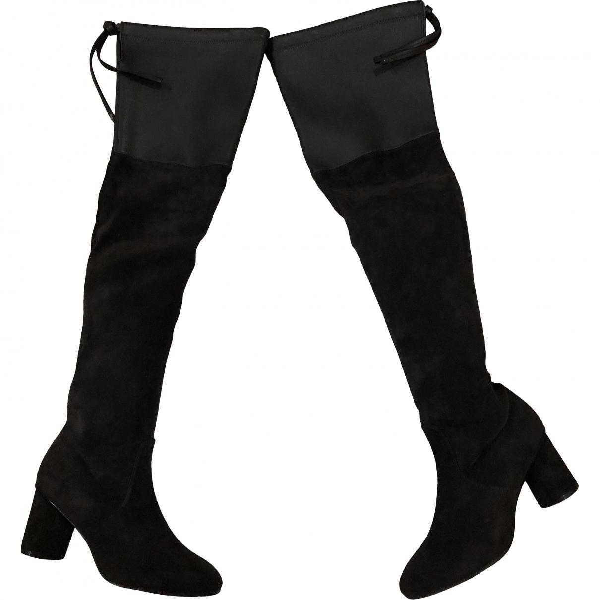 Stuart Weitzman \N Grey Suede Boots for Women 34 EU