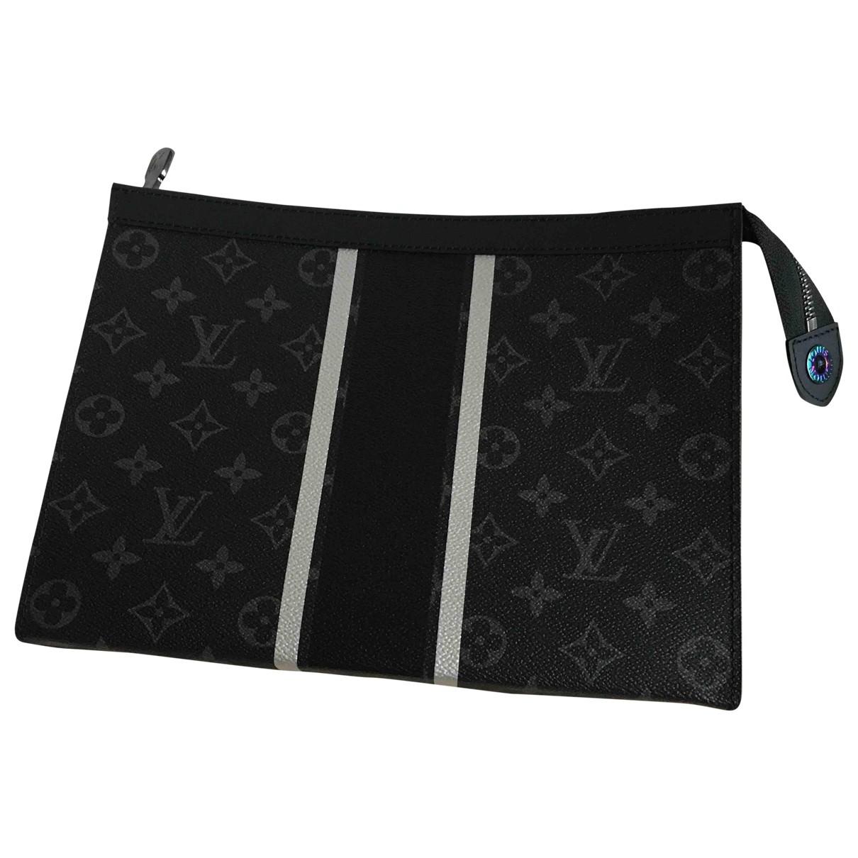 Louis Vuitton X Fragment - Petite maroquinerie   pour homme en toile - noir