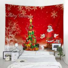 Christmas Santa Claus Tapestry