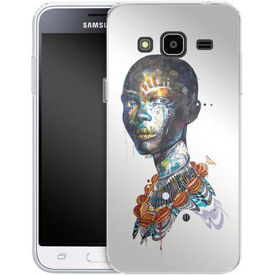 Samsung Galaxy J3 (2016) Silikon Handyhuelle - Zebra von Minjae Lee