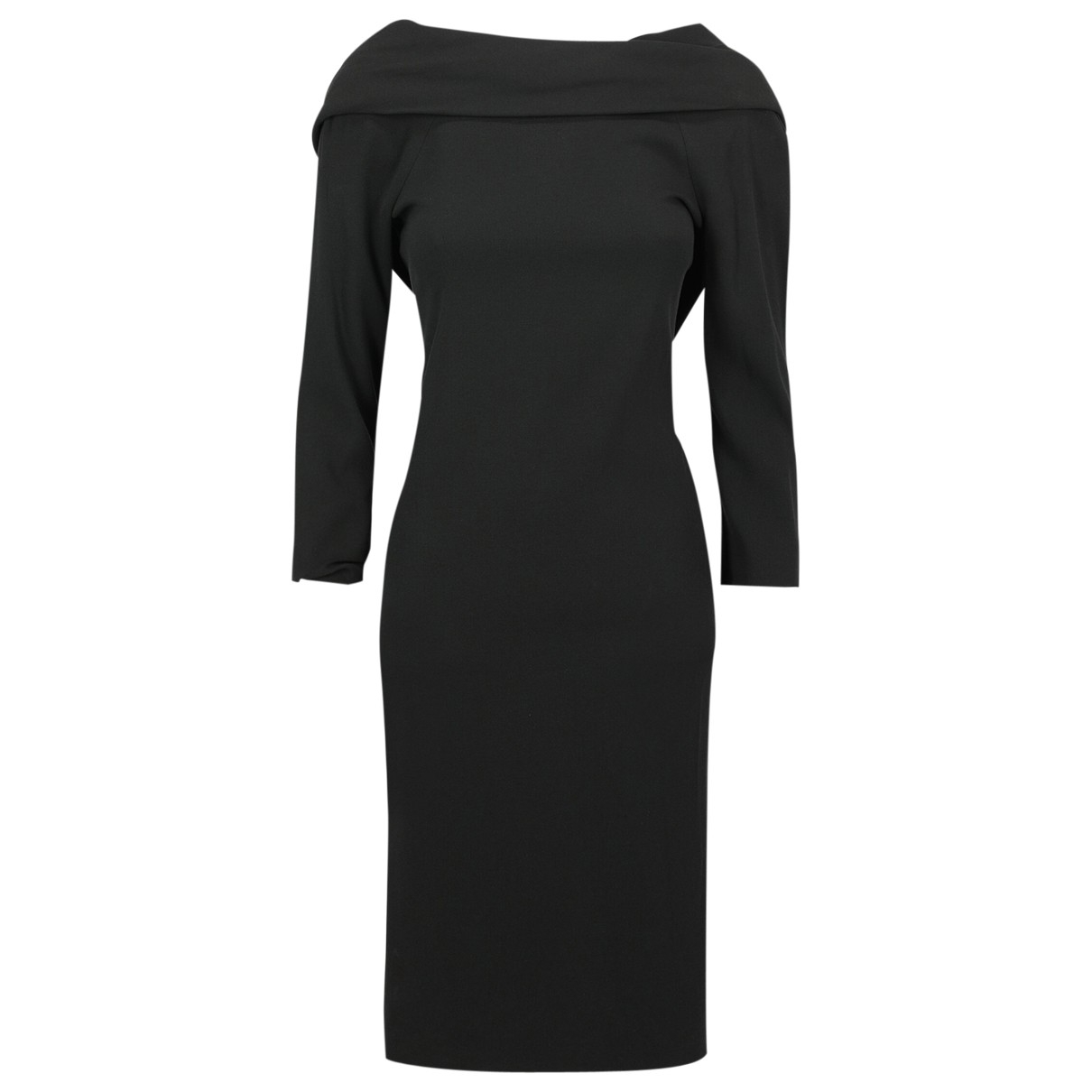 Dsquared2 \N Kleid in  Schwarz Synthetik