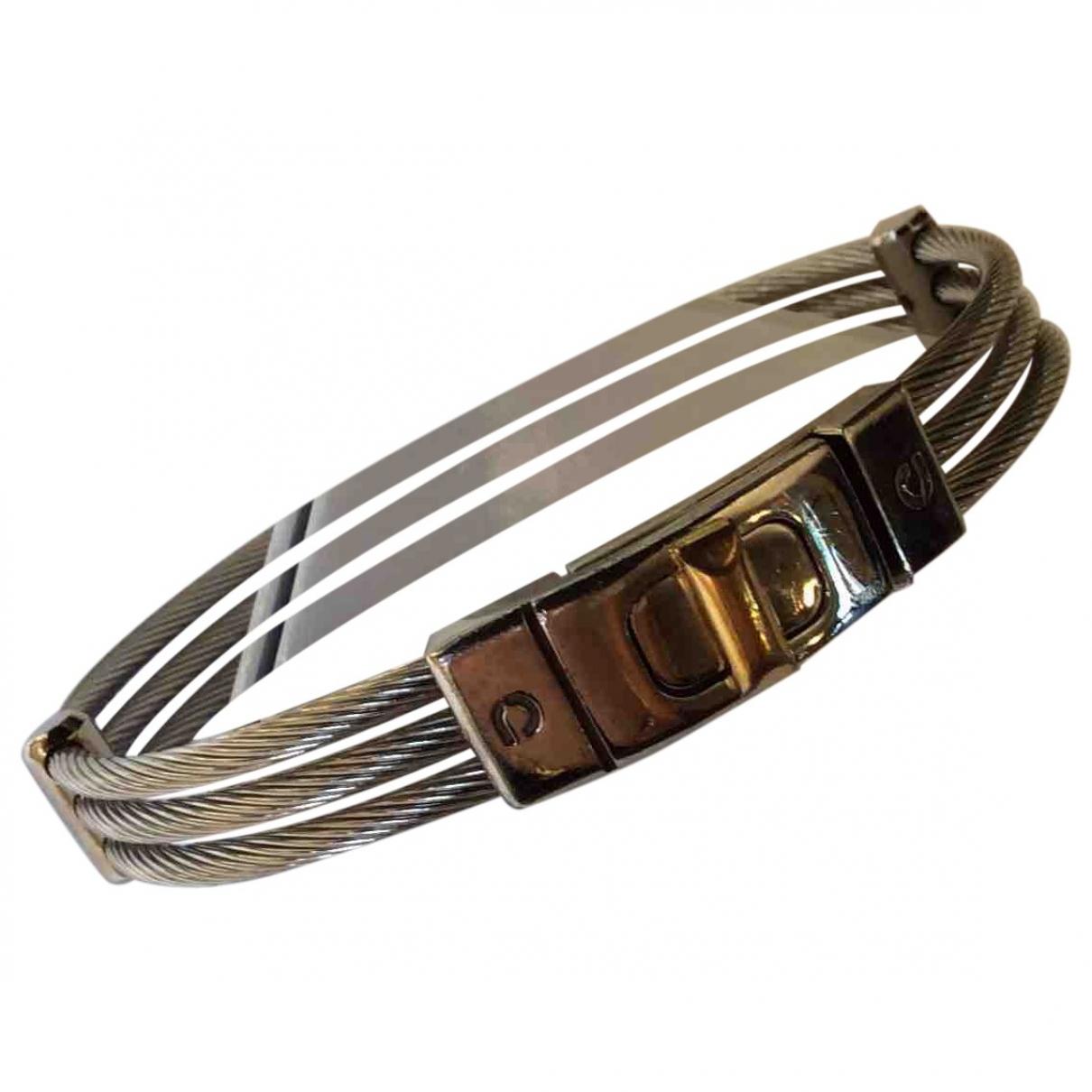 Pierre Cardin - Bijoux   pour homme en acier - gris