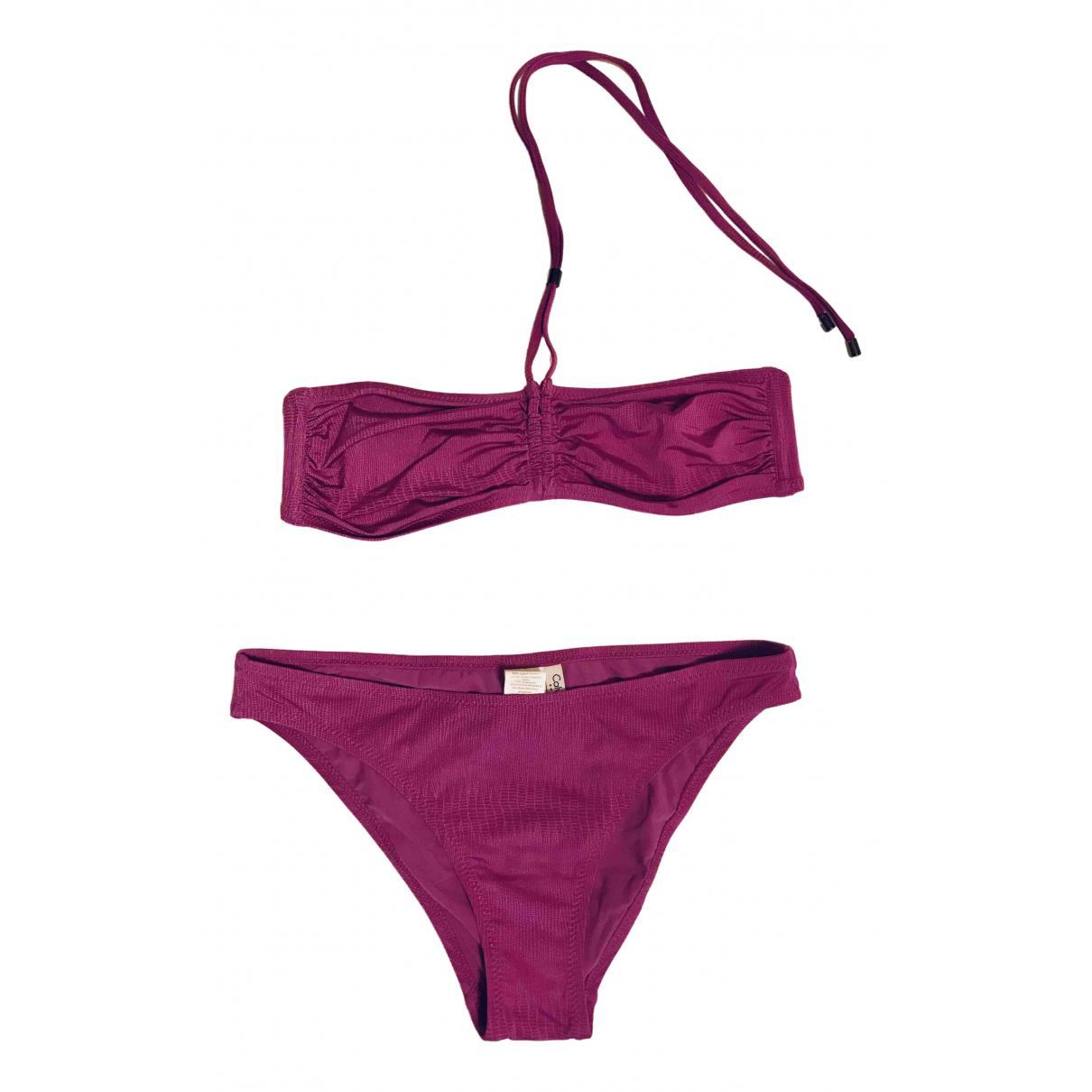 Calvin Klein - Bain   pour femme - violet