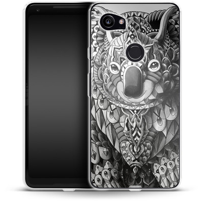 Google Pixel 2 XL Silikon Handyhuelle - Koala von BIOWORKZ