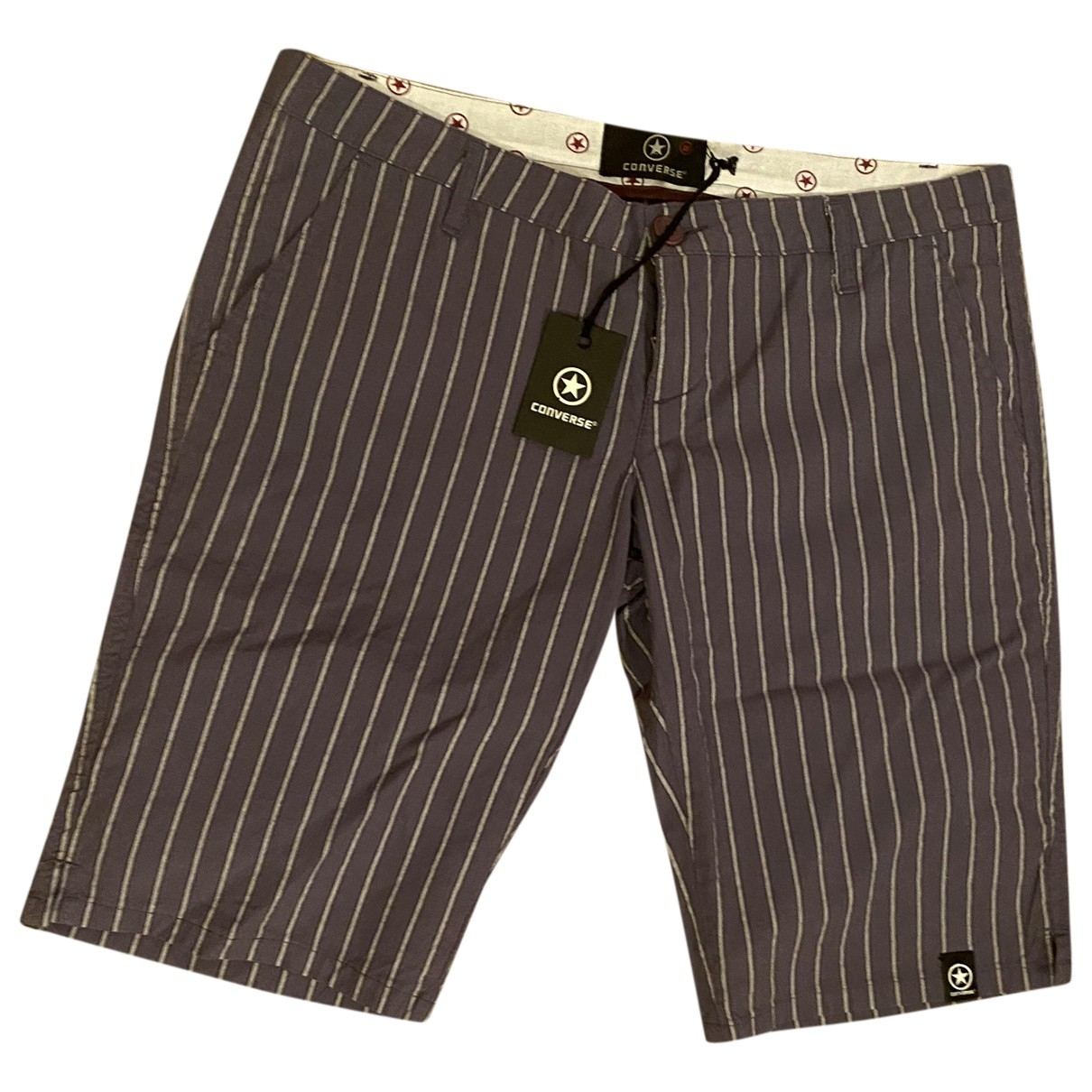 Converse \N Shorts in  Lila Baumwolle