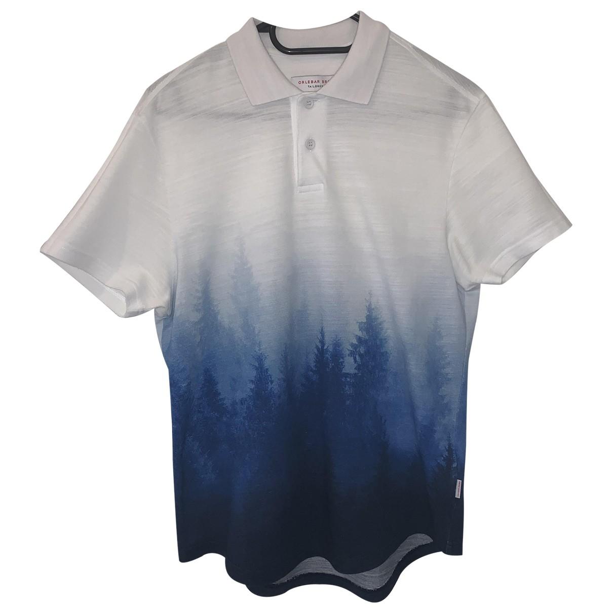 Orlebar Brown - Polos   pour homme en coton - blanc
