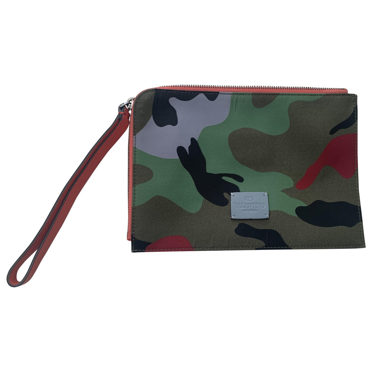 Valentino Garavani \N Multicolour Cloth Small bag, wallet & cases for Men \N