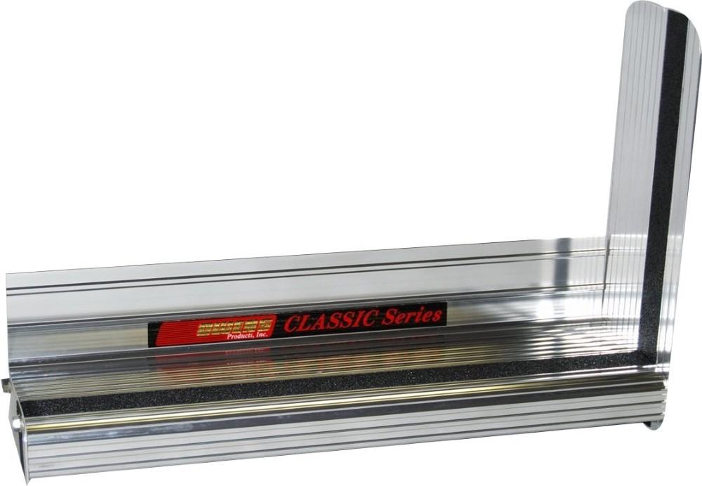 Owens Products OCG7423EX Running Boards Classic Series Extruded 4 Inch 14-18 Sierra 1500 15-18 Sierra 2500/3500 Except Diesel 6.5 Ft Bed Aluminum Brig