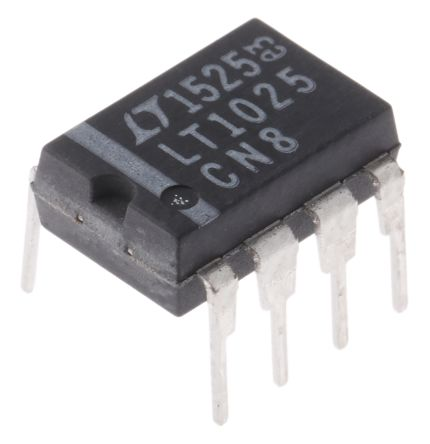 Analog Devices LT1025CN8#PBF , Instrumentation Amplifier, 4 to 36 V, 8-Pin CDIP (2)