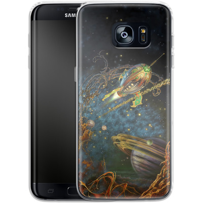 Samsung Galaxy S7 Edge Silikon Handyhuelle - Myles Pinkeney - The Archway von TATE and CO