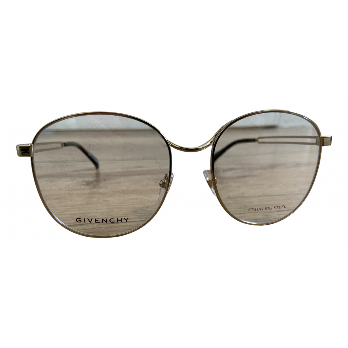 Givenchy N Gold Metal Sunglasses for Women N