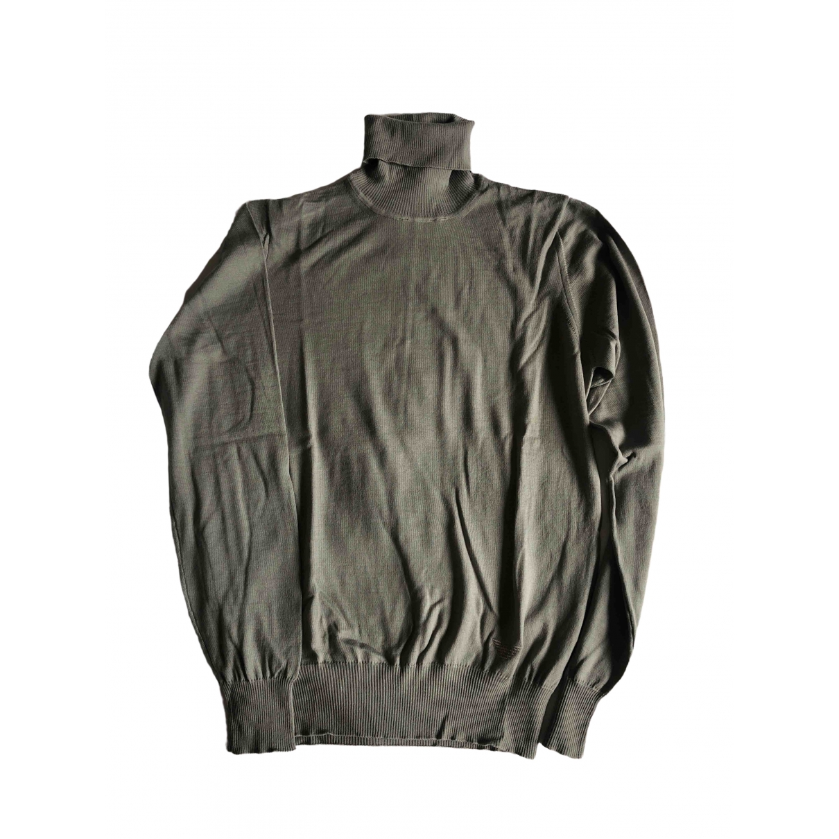 Emporio Armani \N Pullover.Westen.Sweatshirts  in  Grau Wolle