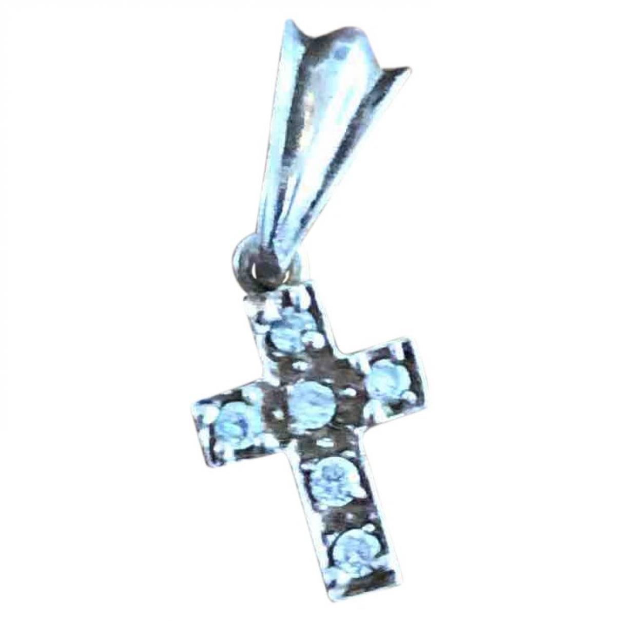 Colgante Croix de Plata Non Signe / Unsigned