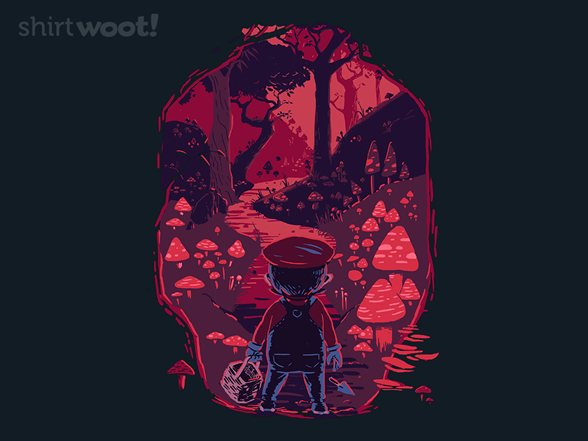 Toadstool Harvest T Shirt