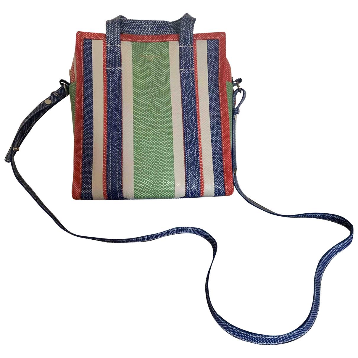 Balenciaga - Sac a main Bazar Bag pour femme en cuir - multicolore