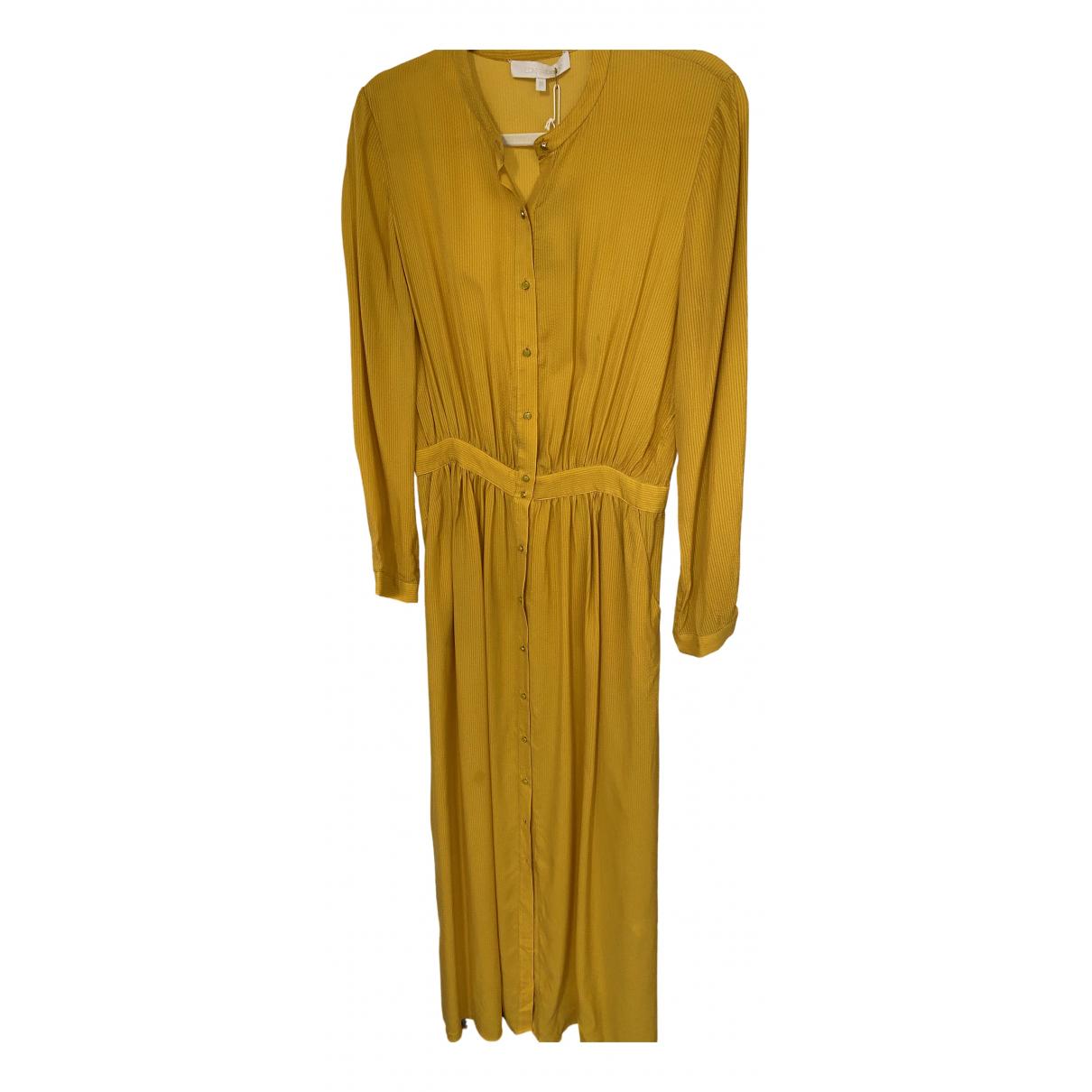 Vanessa Bruno \N Kleid in  Gelb Seide