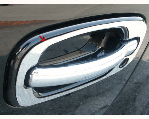 Quality Automotive Accessories ABS | Chrome Door Handle Cover Kit Cadillac Escalade 2002