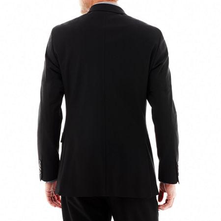 JF J. Ferrar 360 Stretch Slim Fit Suit Jacket, 34 Short, Black
