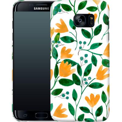 Samsung Galaxy S7 Edge Smartphone Huelle - Fresh Foliage  von Iisa Monttinen