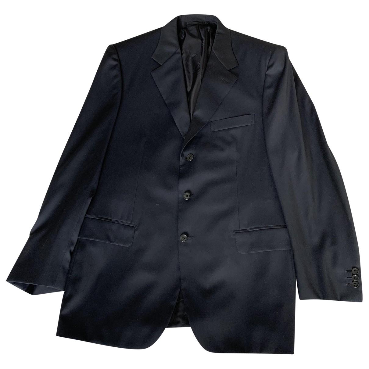 Brioni - Costumes   pour homme en laine - noir