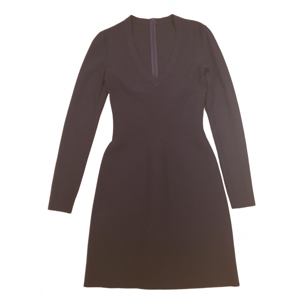 Alaia \N Kleid in  Blau Wolle