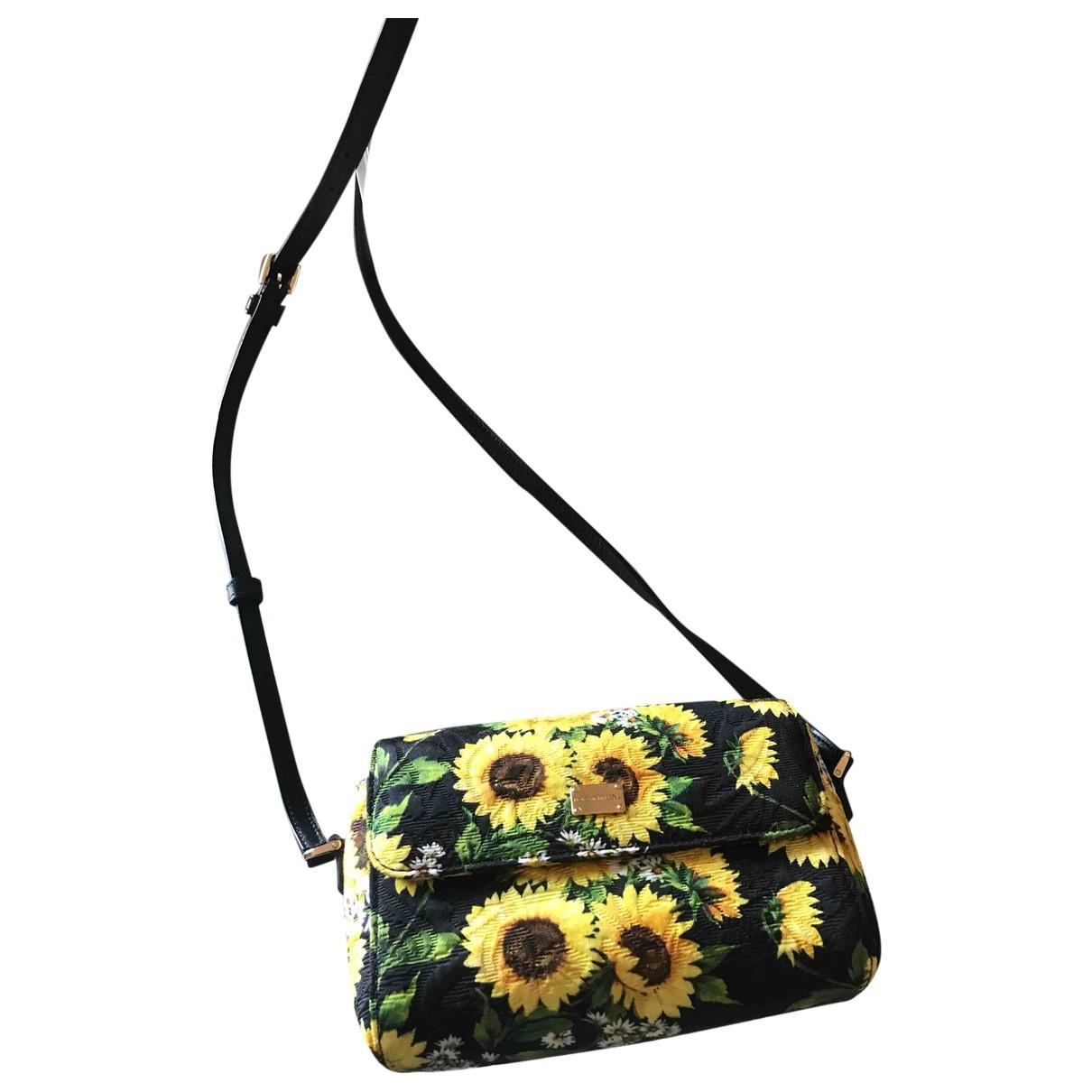 Dolce & Gabbana - Pochette   pour femme en toile - multicolore