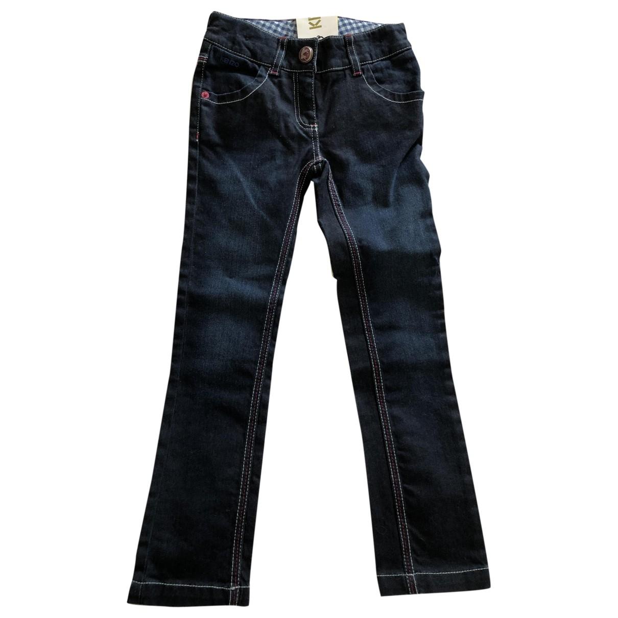 Kenzo - Pantalon   pour enfant en coton - bleu