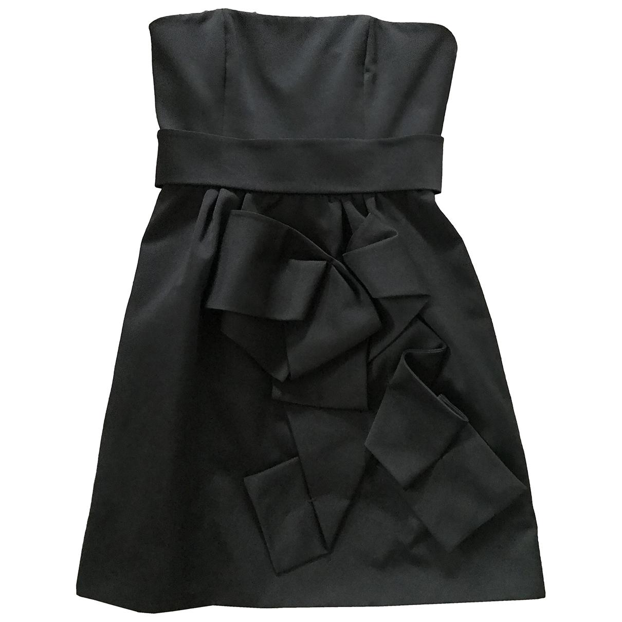 Paule Ka \N Kleid in  Schwarz Polyester