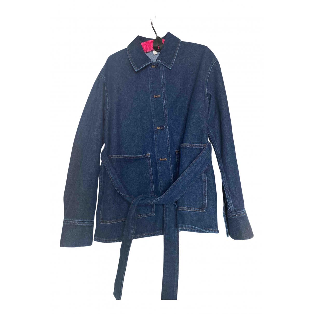 Cos N Blue Denim - Jeans jacket for Women 38 FR