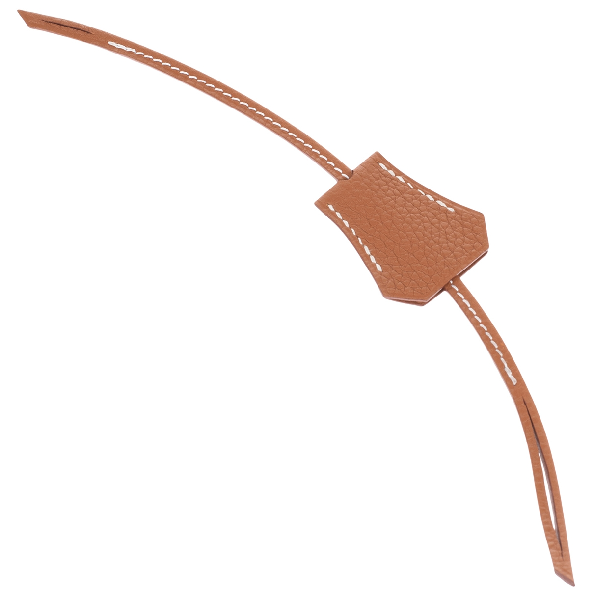 Hermes \N Taschenschmuck in  Gold Leder