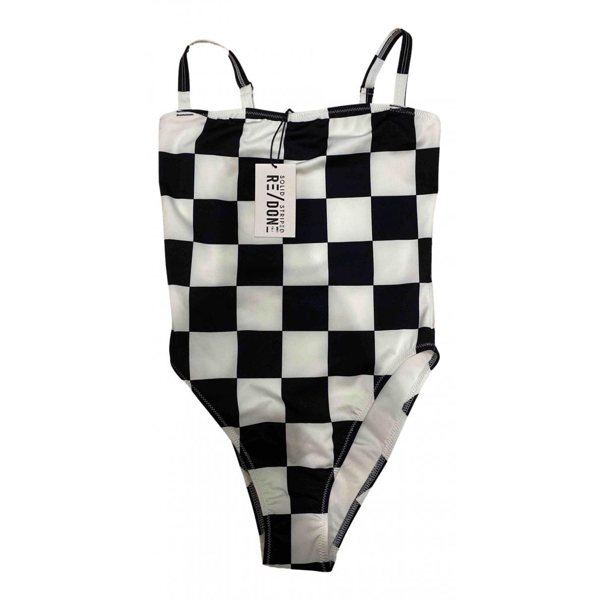 Solid & Striped \N Badeanzug in  Schwarz Polyester