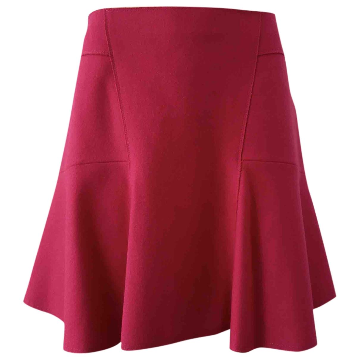 Tara Jarmon - Jupe   pour femme en laine - rose
