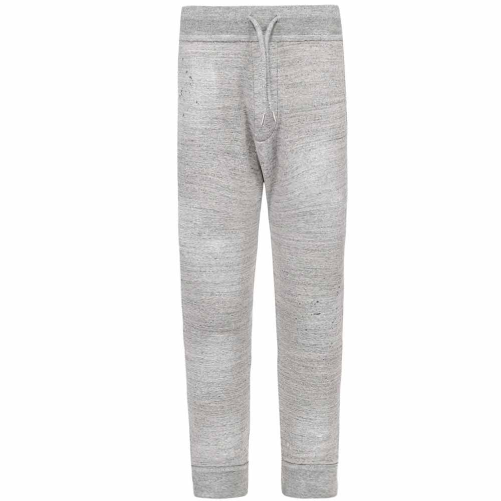 Dsquared2 Paint Splat Cuffed Joggers Colour: GREY, Size: SMALL
