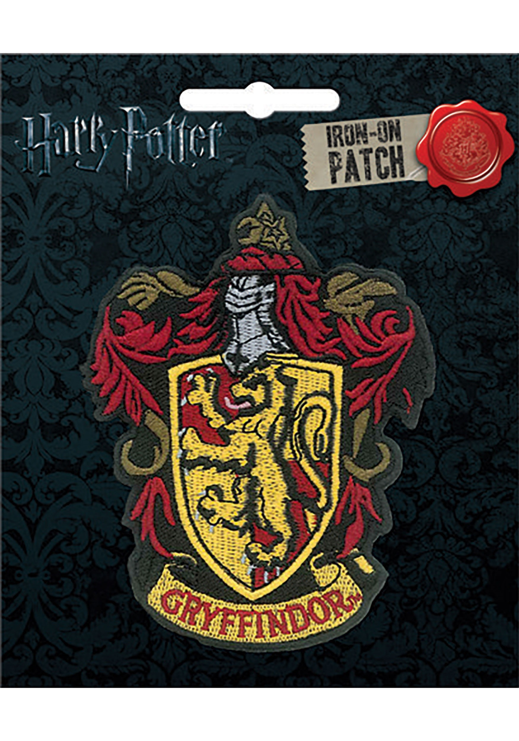 Harry Potter Gryffindor Iron-On Patch