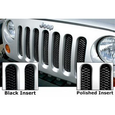 Rampage One-Piece 3-D Grille (Black) - 86512