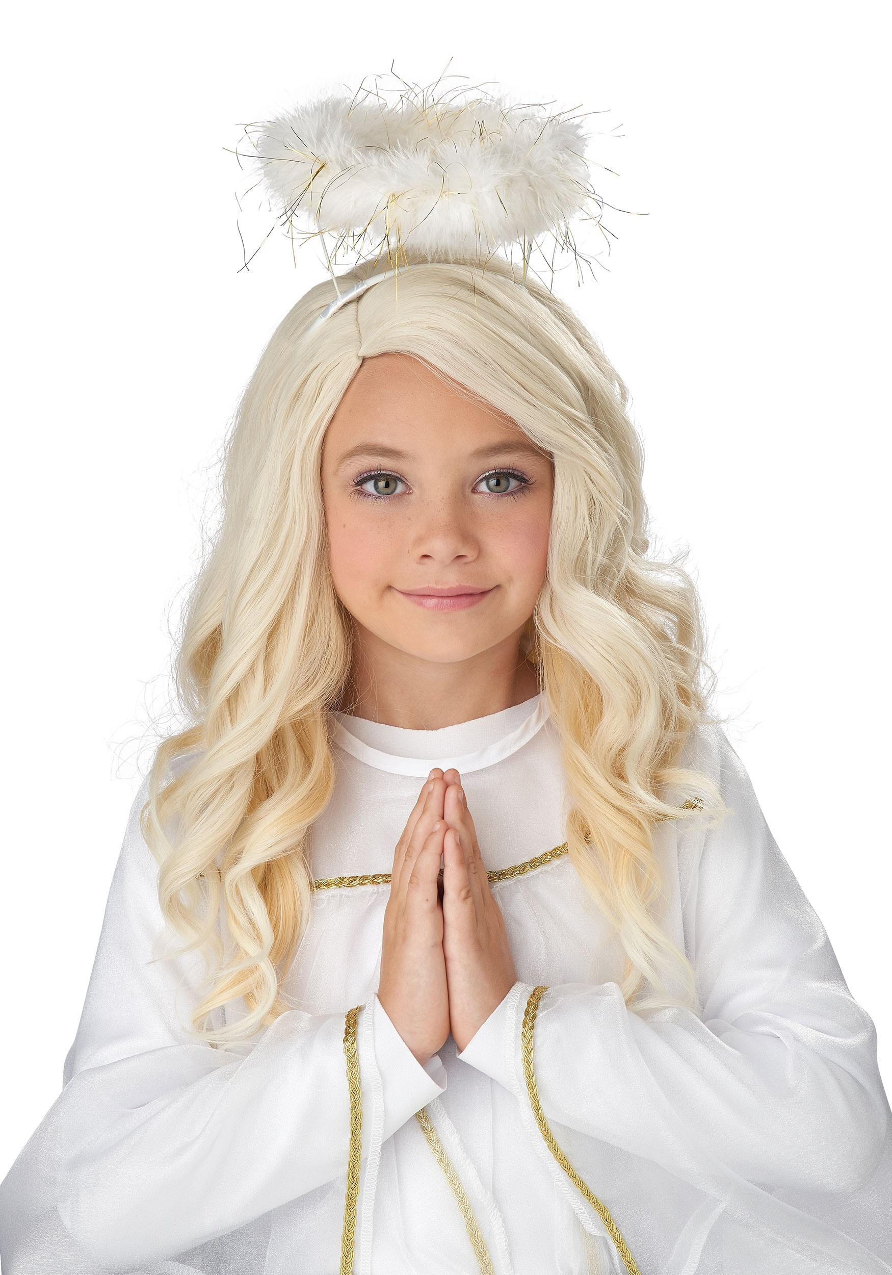 Guardian Angel Wig for Girls
