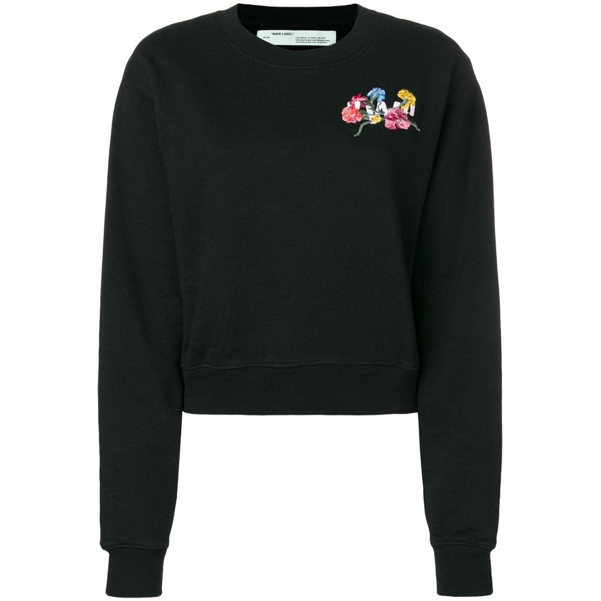 Off-white \N Pullover in  Schwarz Baumwolle