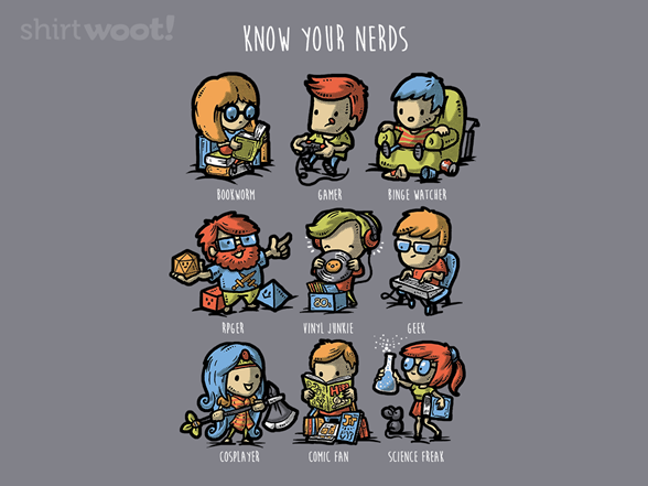 Know Your Nerds T Shirt